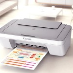 Canon Pixma Mg2450 All In One Photo Printer Cartridge