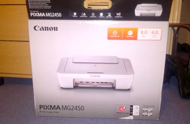Canon Pixma Mg2450 All In One Printer Review